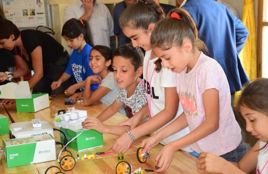 Türkiye Eğitim Gönüllüleri Vakfı çocuk atölyesi