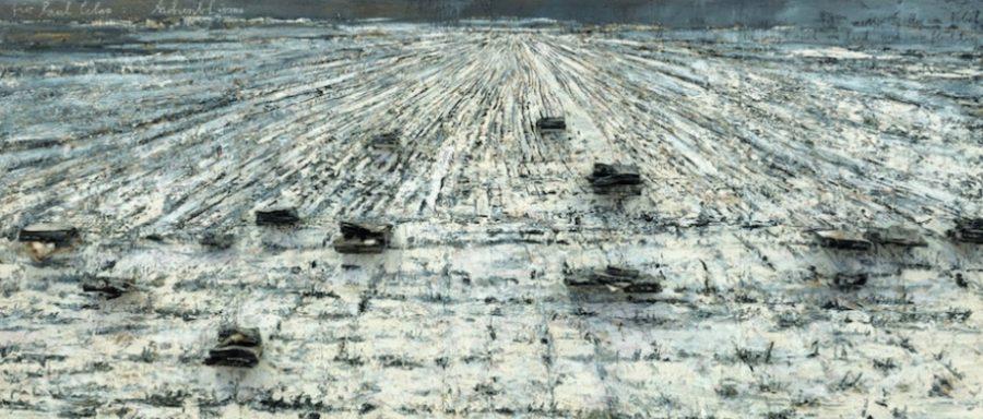 Paul Celan'a, Kül Otu, 2006, 330 x 760 x 40 cm