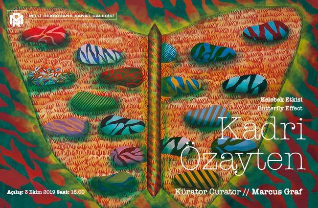 """Kadri Özayten'in, """"Kelebek Etkisi"""" başlıklı sergisi"""