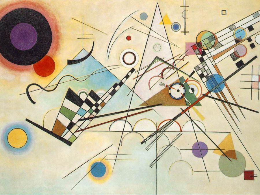 Kandinsky, Kompozisyon 8, 1923, Solomon R. Guggenheim Müzesi